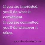 Post image for Do you have commitment issues in your business?