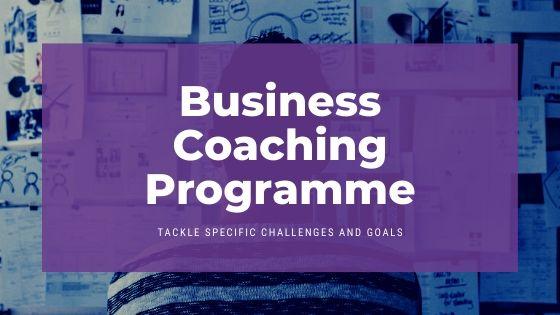 business coaching programme header
