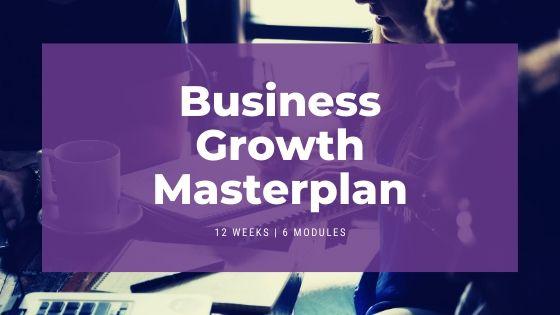 Business Growth Masterplan Header