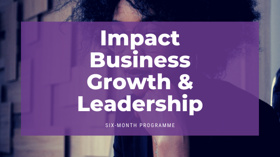 Impact business growth programme header