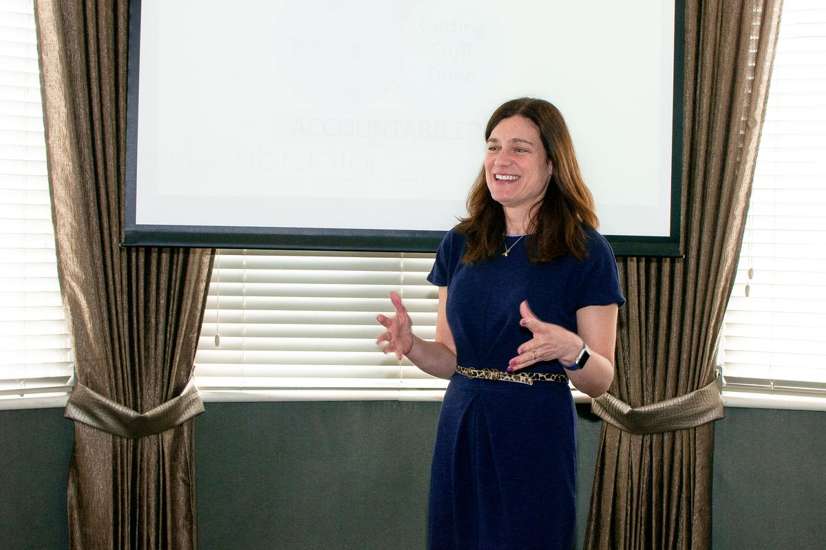 Staffordshire business coach Alison Bradford