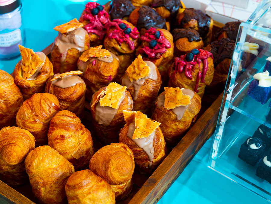 Variety of baked cruffins that made a bakery have it's own USP.